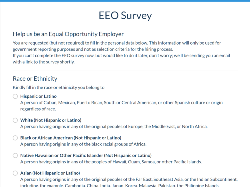 EEOC and OFCCP Compliance Reports | Jobsoid