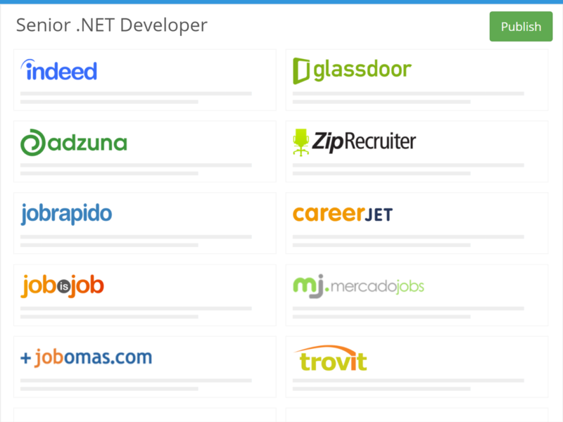 one click posting of jobs to free job boards