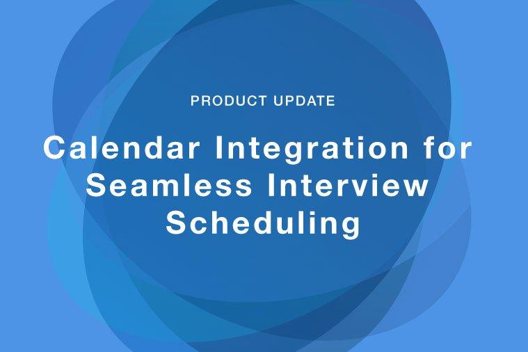 Calendar Integration - Product Update