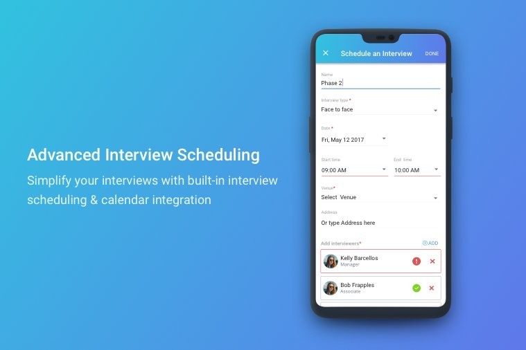 Interview Scheduling - Mobile App