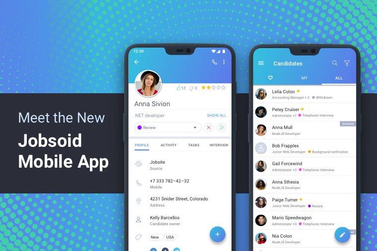 Jobsoid Recruiter Mobile App 2.0
