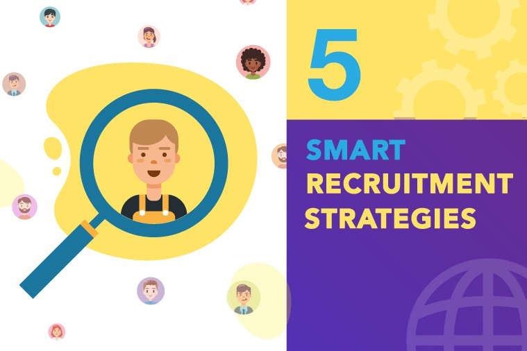 5 Smart Recruitment Strategies to Stay Ahead of the Curve in 2019