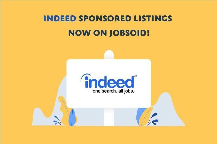Indeed Sponsored Listings now on Jobsoid