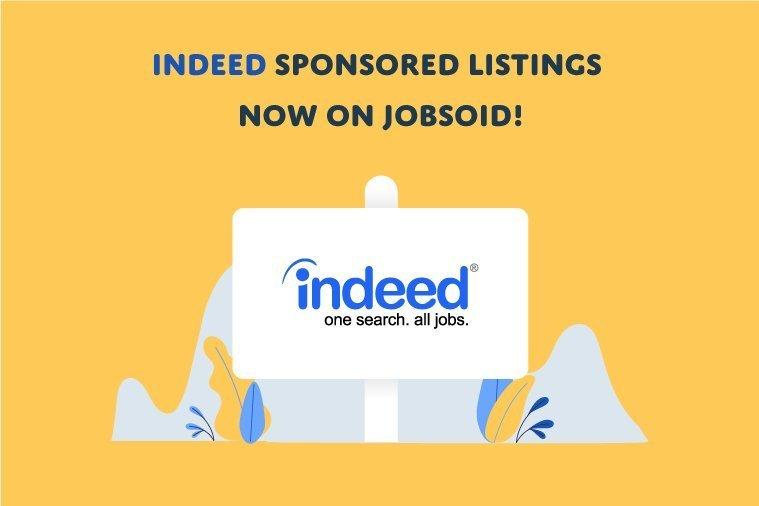 Indeed Sponsored Listings now on Jobsoid! - Jobsoid