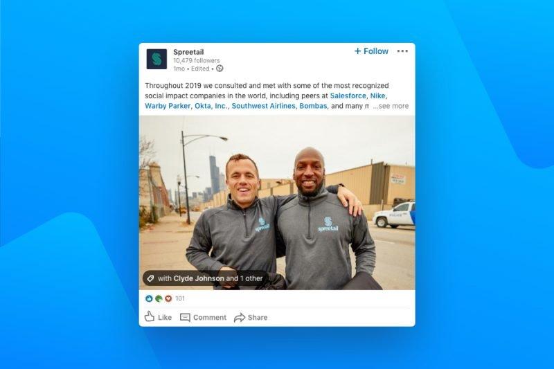 Spreetail focuses on Employer Branding on LinkedIn