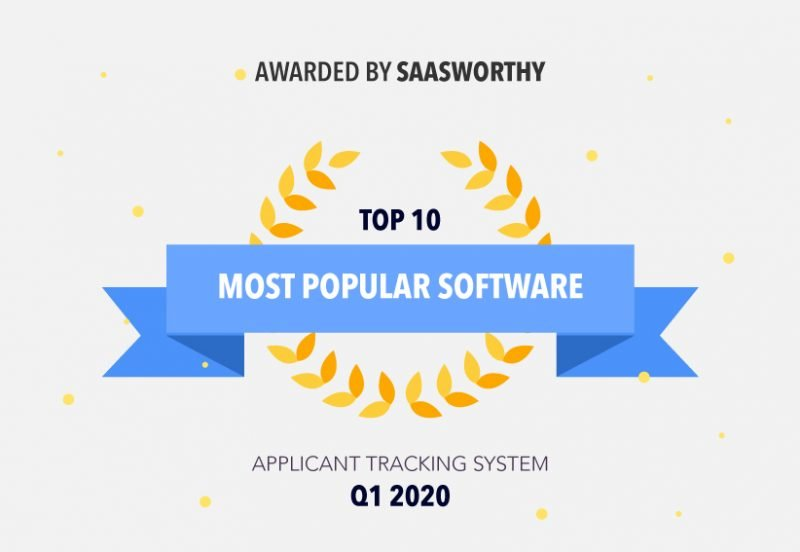 Jobsoid wins Most Popular Software Award in ATS Category