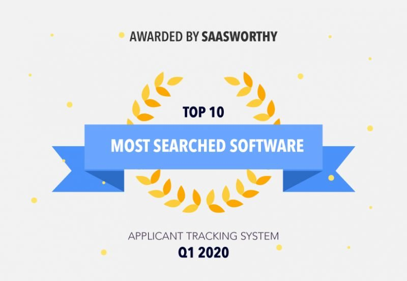 Jobsoid wins Most Searched Software Award in ATS Category