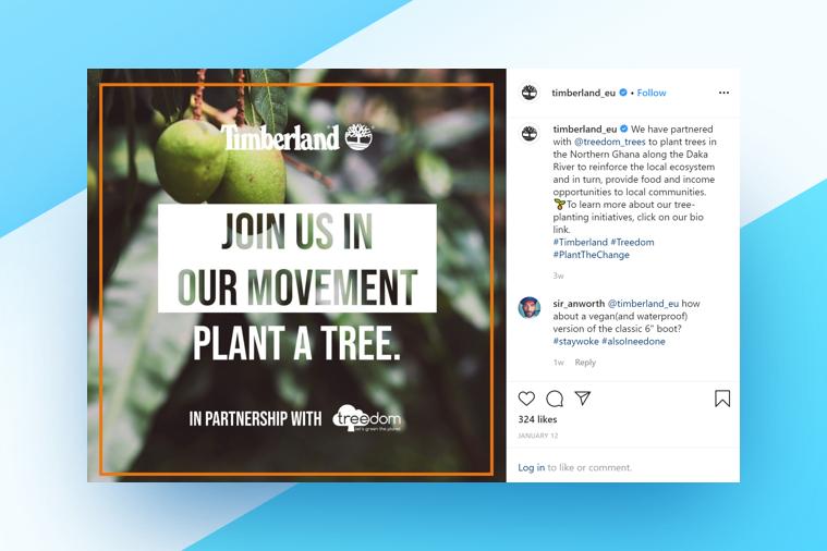 Timberland - Employer Branding on Social Media