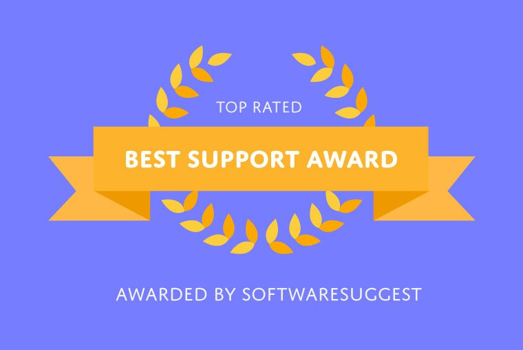 SoftwareSuggest rewards Jobsoid with Best Support Award - Blog Image