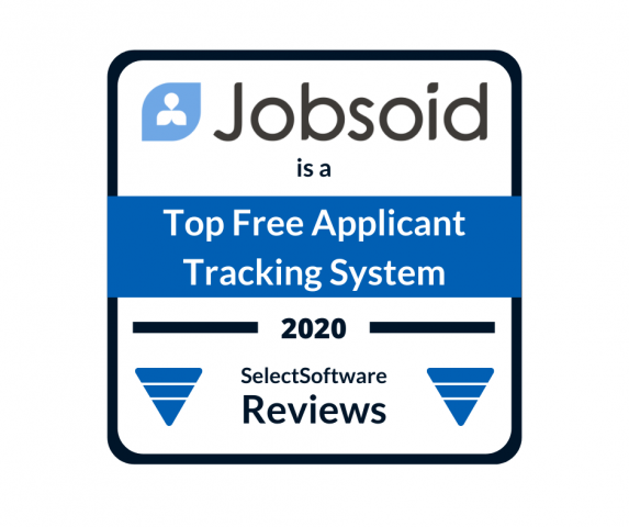 Jobsoid is listed in Top Free Applicant Tracking Systems by SelectSoftware Reviews