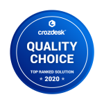 Jobsoid receives Quality Choice - Top Ranked Solution 2020 Badge from Crozdesk