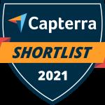 Jobsoid gets place in Capterra Shortlist 2021 - Recognition Badge
